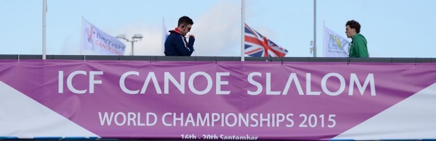 Canoe Slalom World Championships. London. 2015. Day 2.