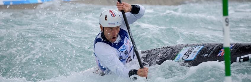 Canoe Slalom World Championships. London. 2015. Day 3.